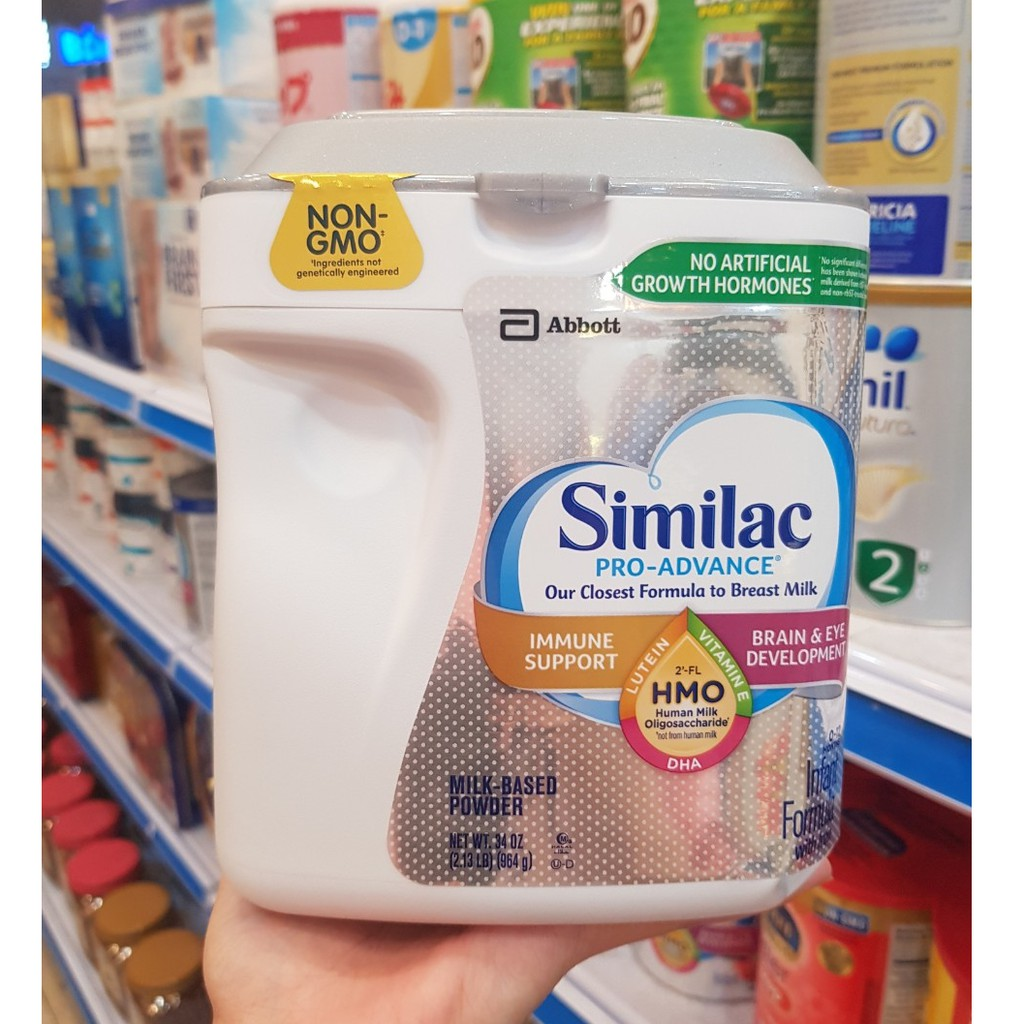 Cách Pha Sữa Similac Pro Advance