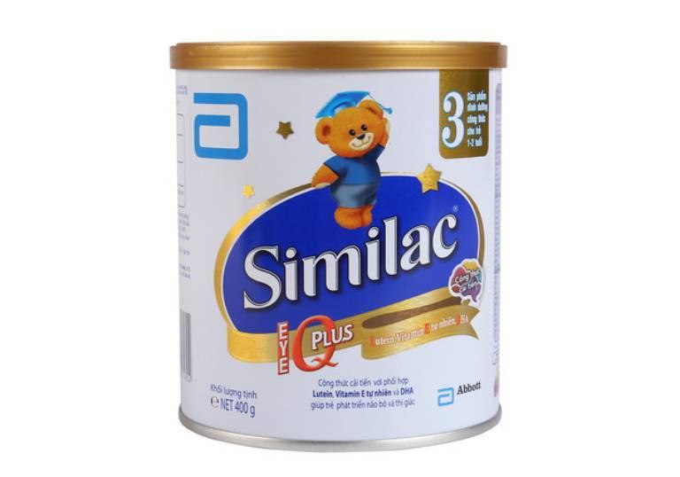 Sữa bột cho trẻ 1 tuổi