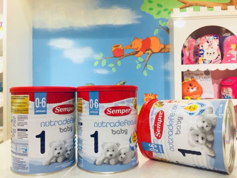 Sữa cho trẻ sơ sinh từ 0-6 thánh tuổi