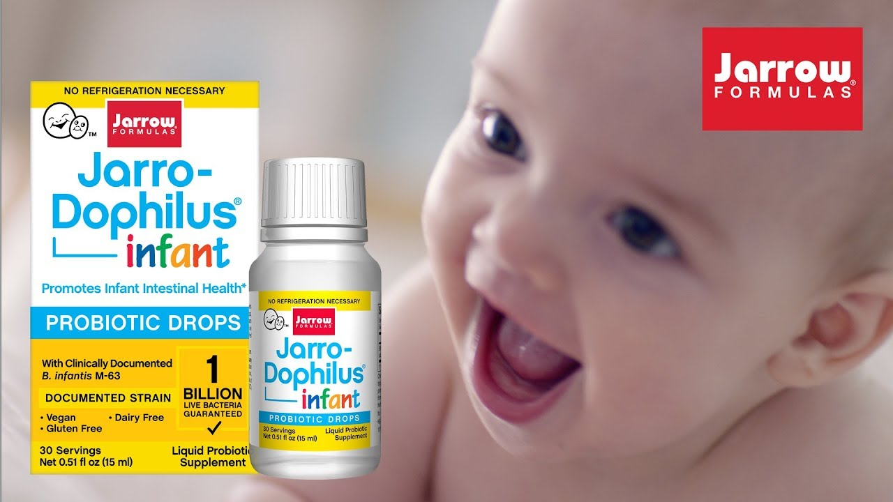 Men tiêu hóa cho trẻ sơ sinh Jarro-Dophilus