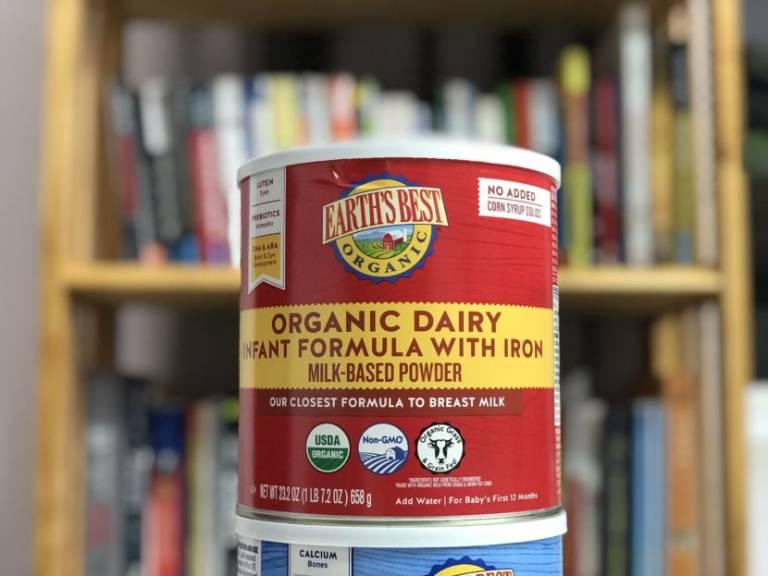 Sữa Earth's Best Organic Dairy