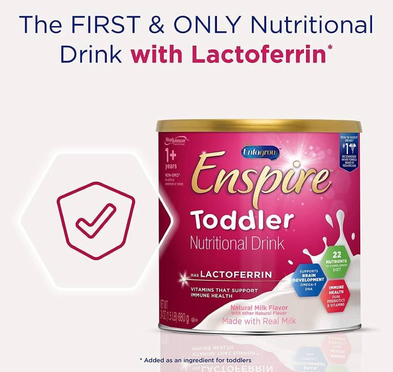 Sữa Enfagrow Enspire Toddler Lactoferin