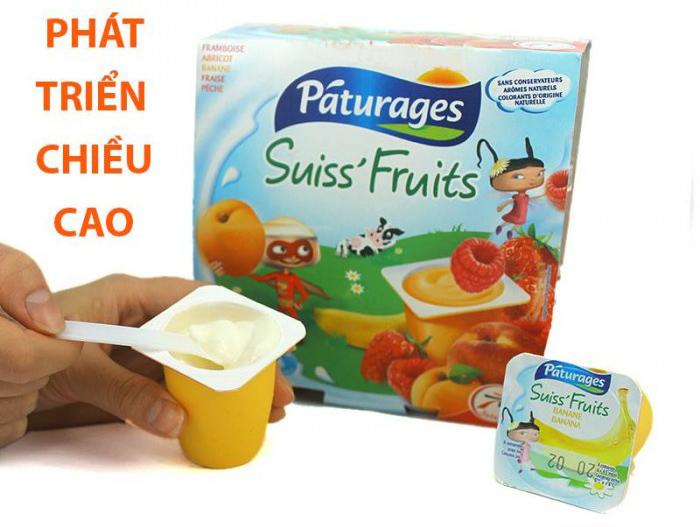 Các Loại Sữa Chua Dành Cho Bé