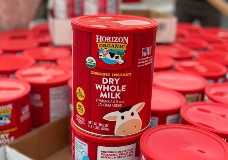 Sữa tươi nguyên kem dạng bột Horizon Organic Dry Whole Milk