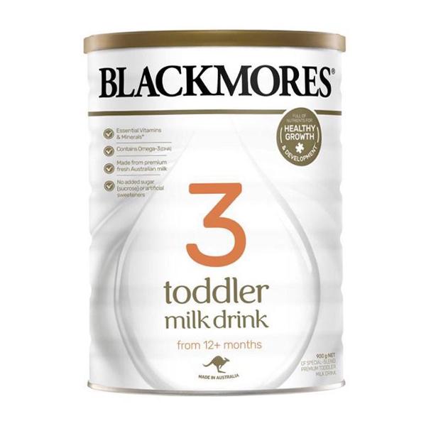 sữa blackmores số 3 dành cho trẻ mấy tuổi
