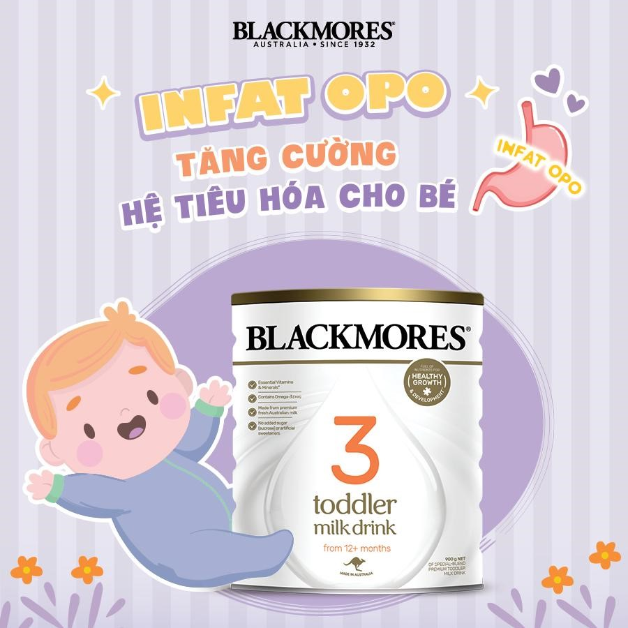 sữa blackmores pha nước bao nhiêu độ